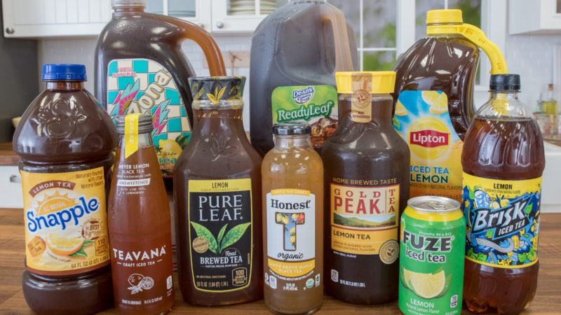 We Put 10 Teas to the Test  Find Out Which is the Best Iced