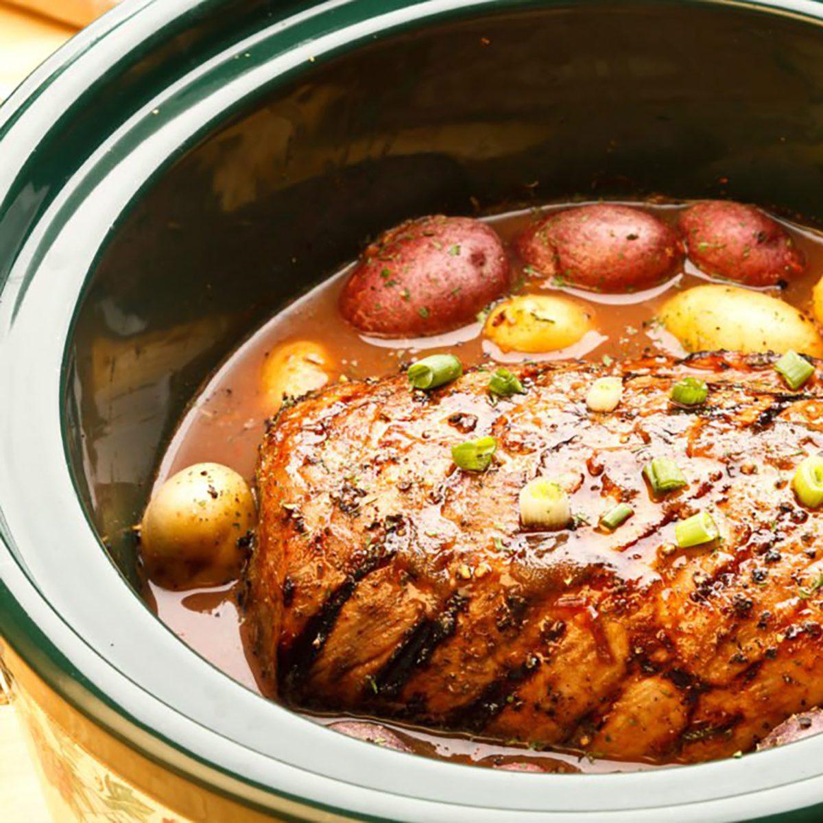 roast in slow cooker
