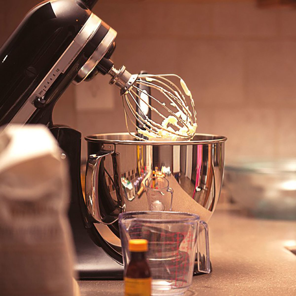 stand mixer on counter