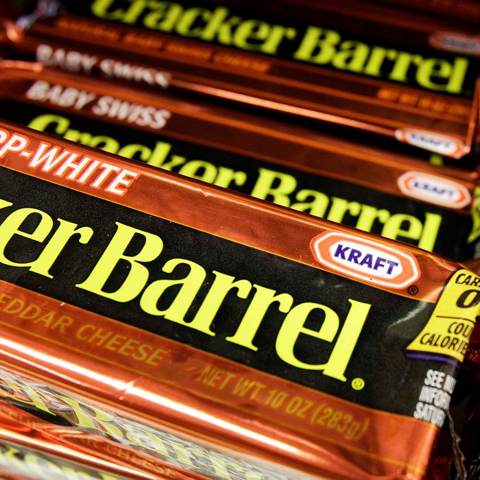 Kraft Packages of Cracker Barrel cheese