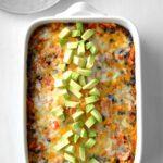 Cheesy Fiesta Beef Casserole