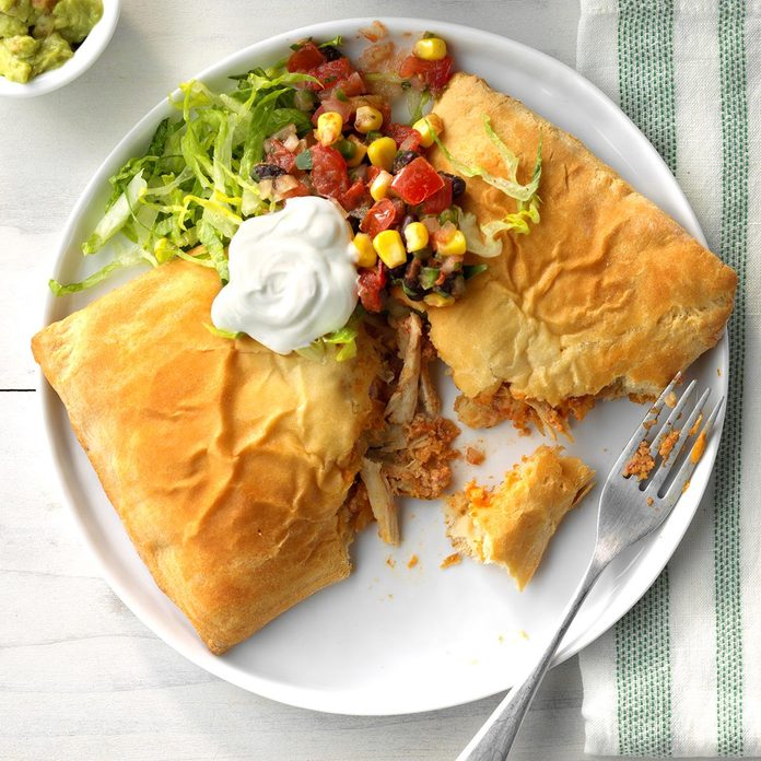 Chicken Taco Pockets