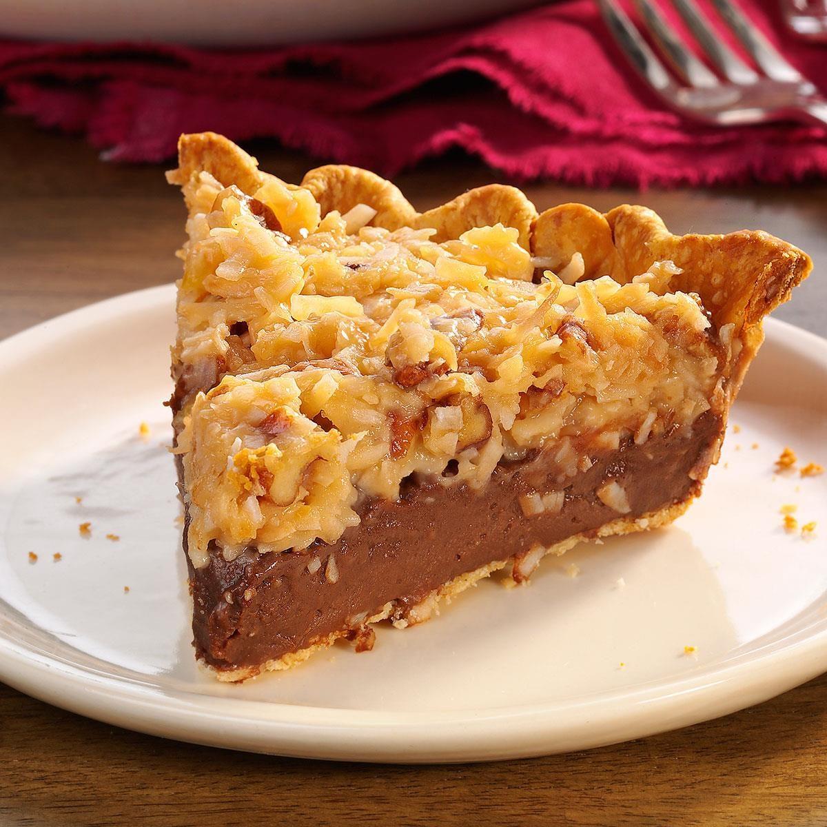 Contest-Winning German Chocolate Pie Recipe
