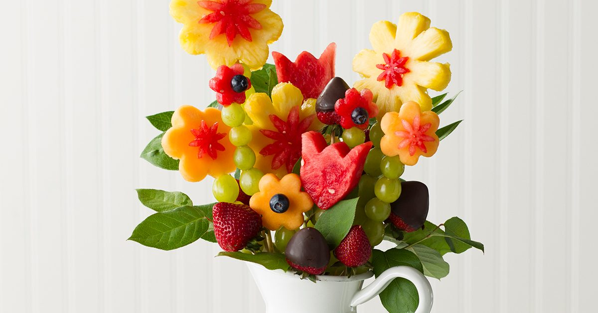 How To Make Fruit Flowers Into Edible Arrangements