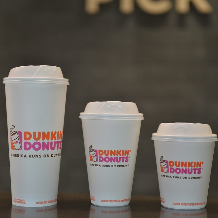 different sizes of coffee