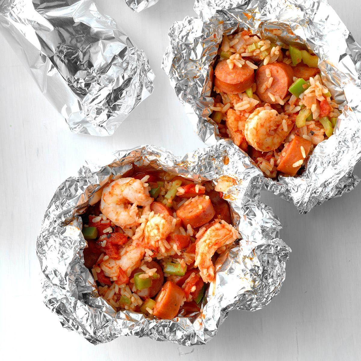 Foil Packet Shrimp And Sausage Jambalaya Exps Sdas18 219065 D03 28  6b 5