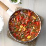 Ground Beef Veggie Stew