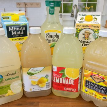 We Tried 7 Brands to Find the Summer's Most Refreshing Lemonade