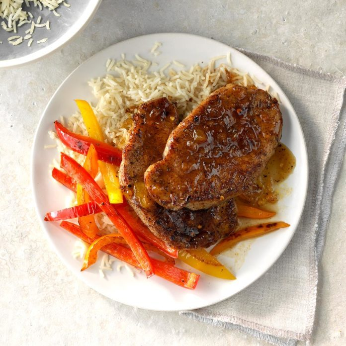 Jamaican Jerk Pork Chops