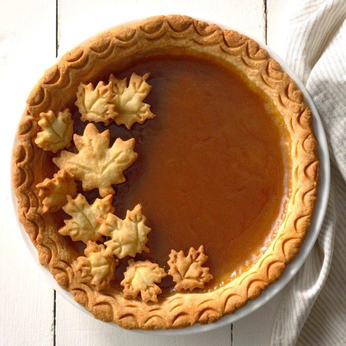 Vermont: Maple Syrup Pie