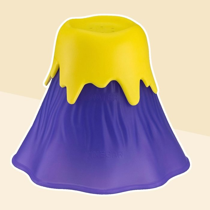 Kitchen Gizmo Volcano Microwave Cleaner - Thoroughly Cleans your Microwave in Minutes with this Fun Erupting Volcano - Purple