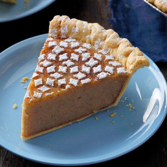 Maryland: White Potato Pie