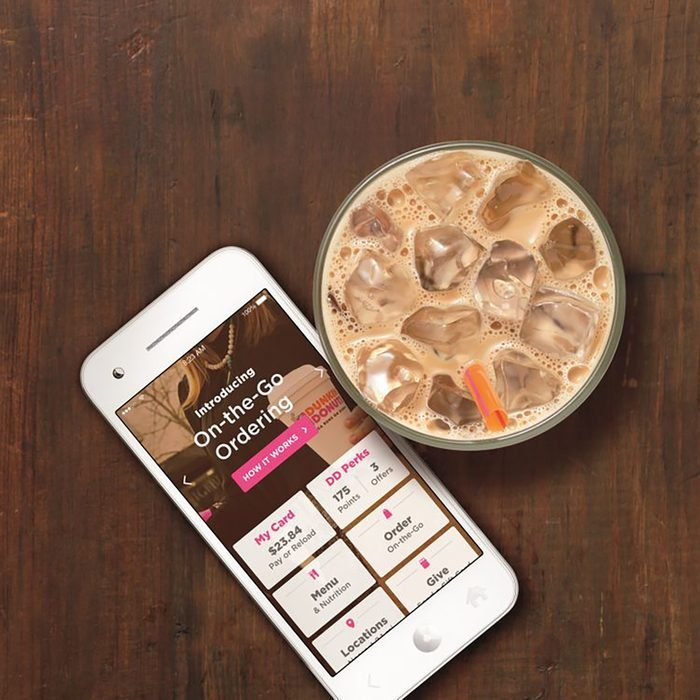 mobile ordering for coffee