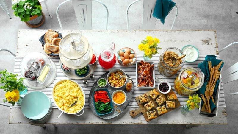 Rms 5609 Blueberry Sausage Breakfast Cake 20494 Sparkling Fruit Salad