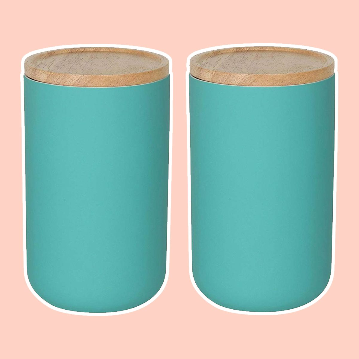 Now Designs Canister, Large, Lagoon Blue, Set of 2