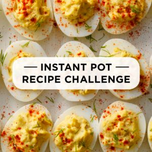 30-Day Instant Pot Meal Plan Challenge