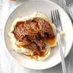 Shredded Green Chile Beef