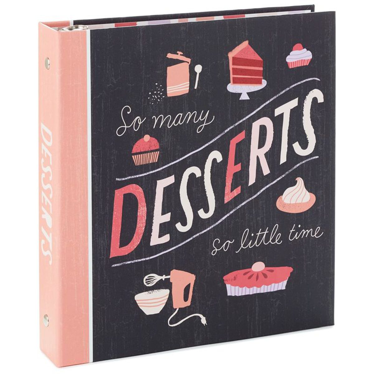 Dessert-themed recipe book