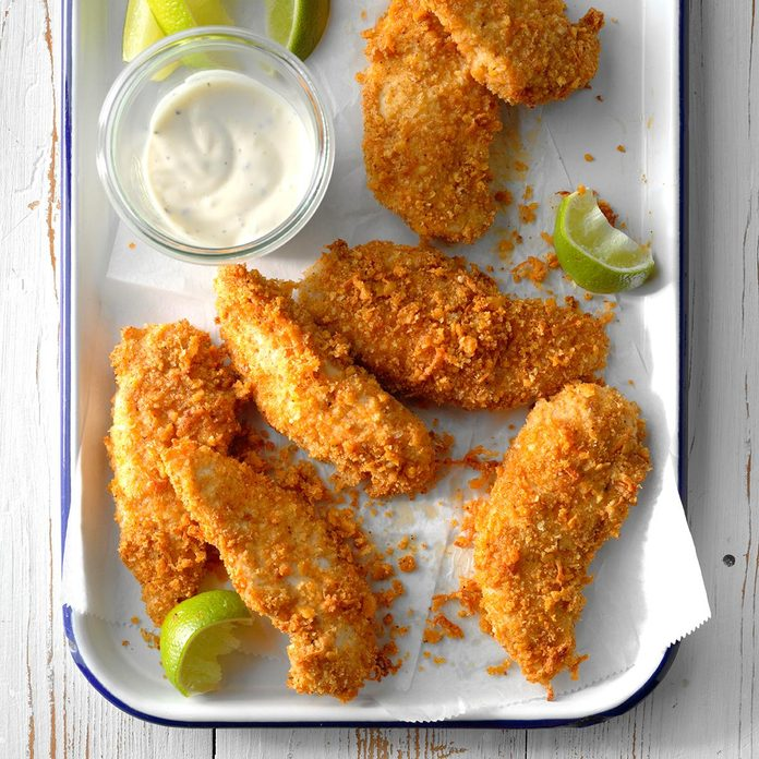 Tex-Mex Chicken Strips