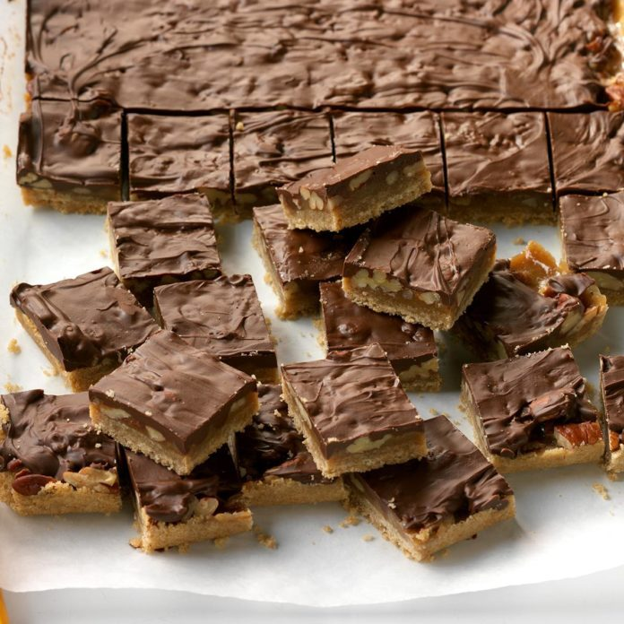 Toffee Turtle Squares