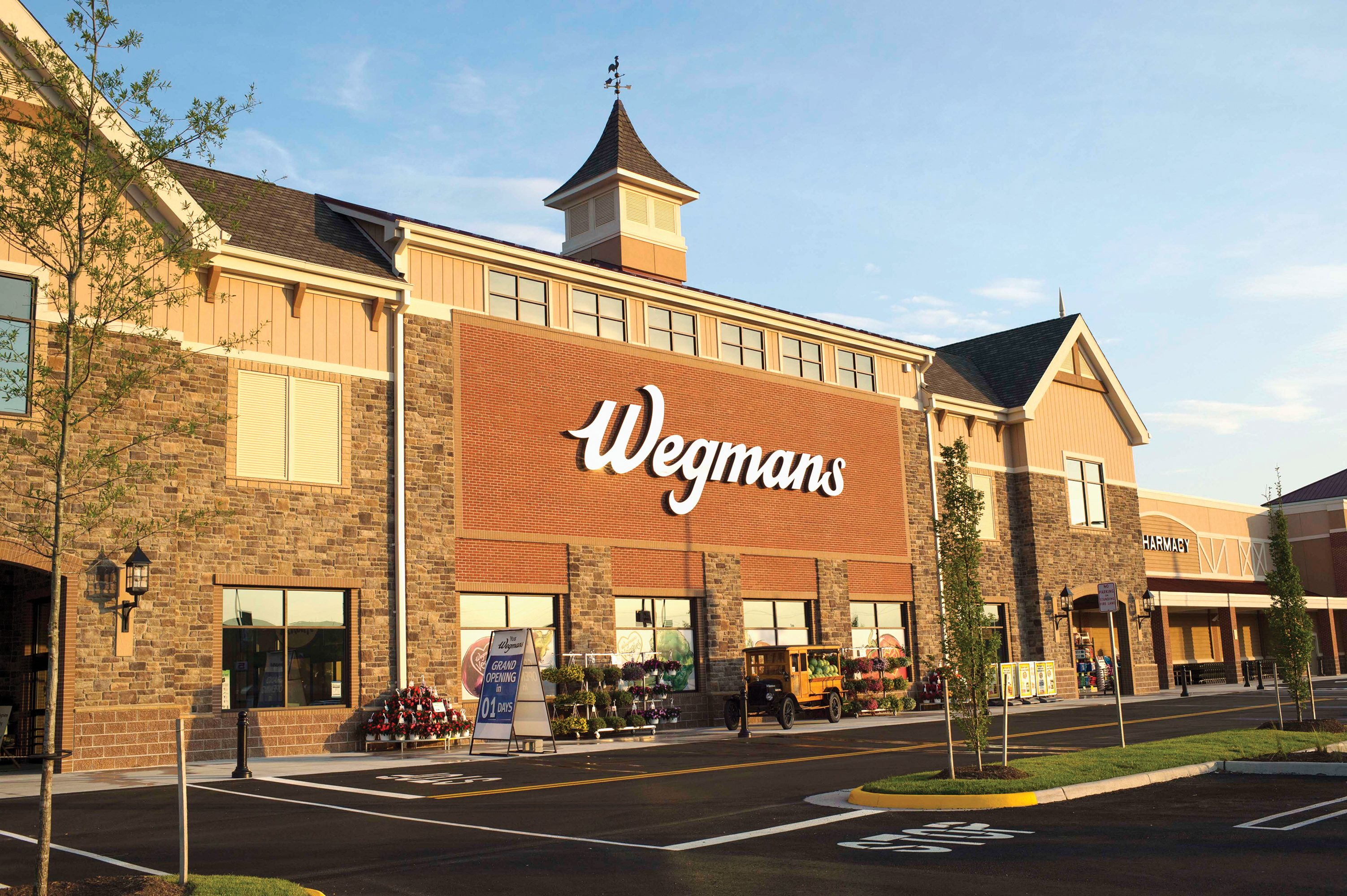 Wegmans supermarket store front