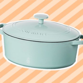 This Cast-Iron Dutch Oven Is Now Half Off On Amazon