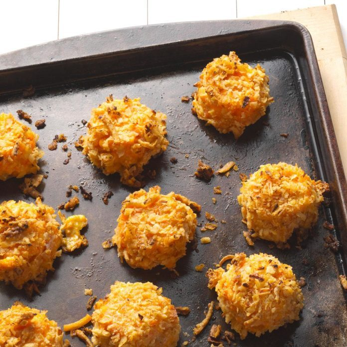 Buffalo Macaroni and Cheese Bites