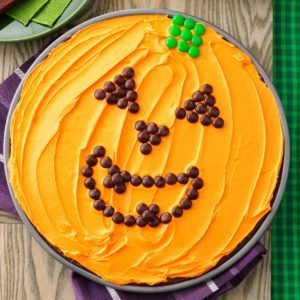 Great Pumpkin Brownie