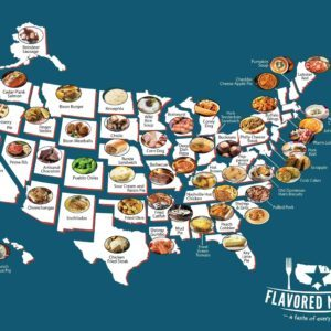 This Map Claims to Show Your State's Most Iconic Dish, but Does It?