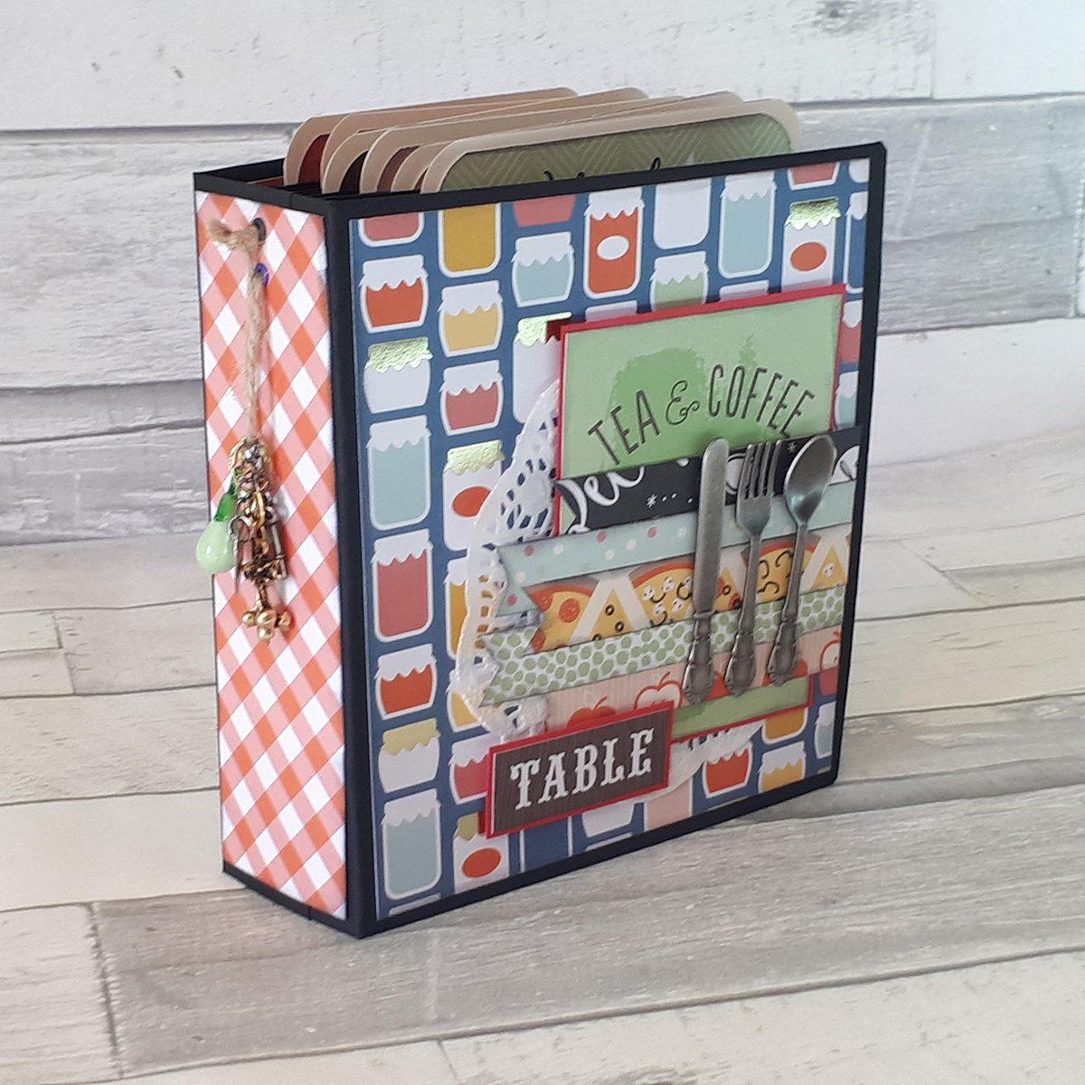 Foodie Journal Scrapbook