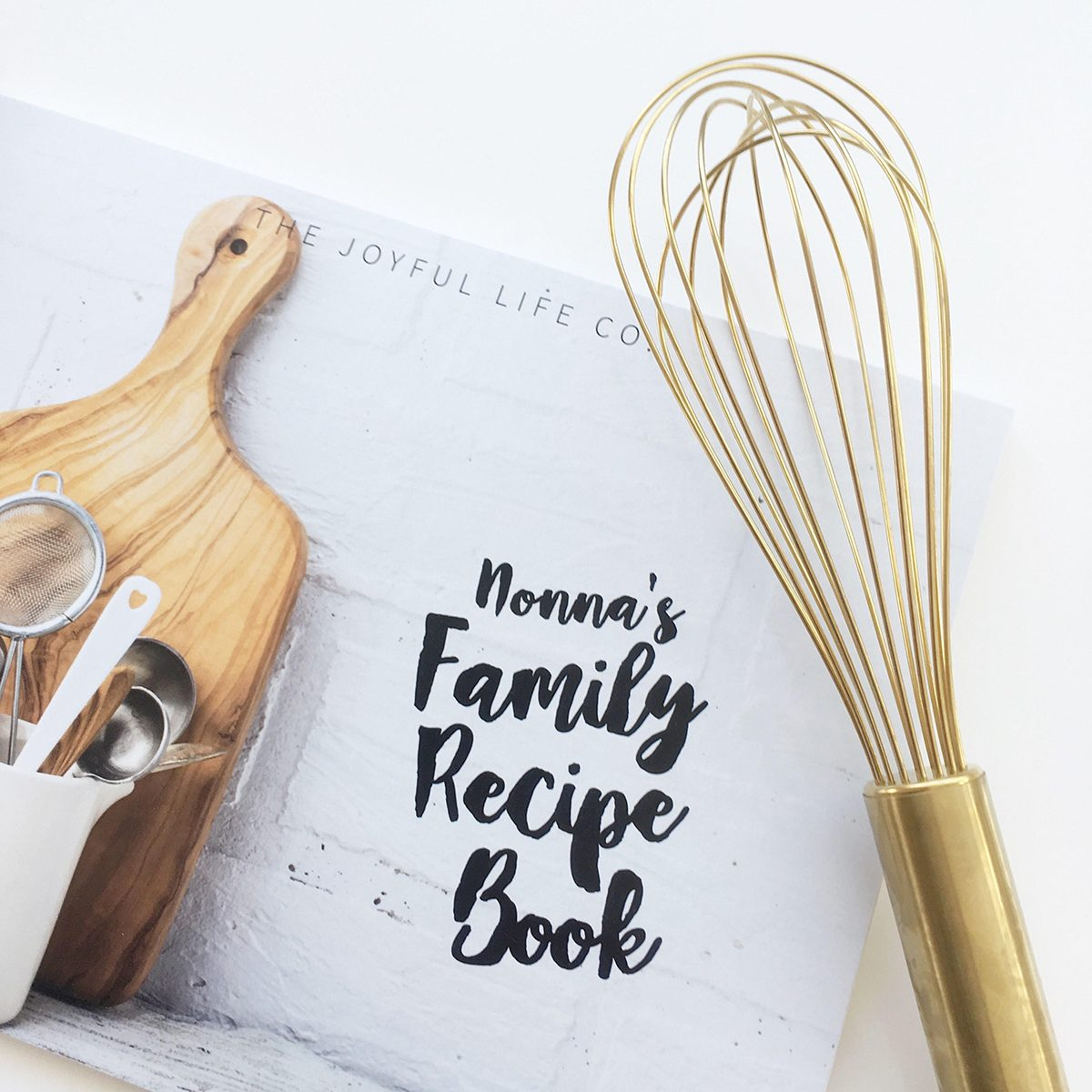 Personalized Family Recipe Book