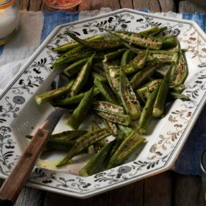 How to Choose, Prep and Cook Okra