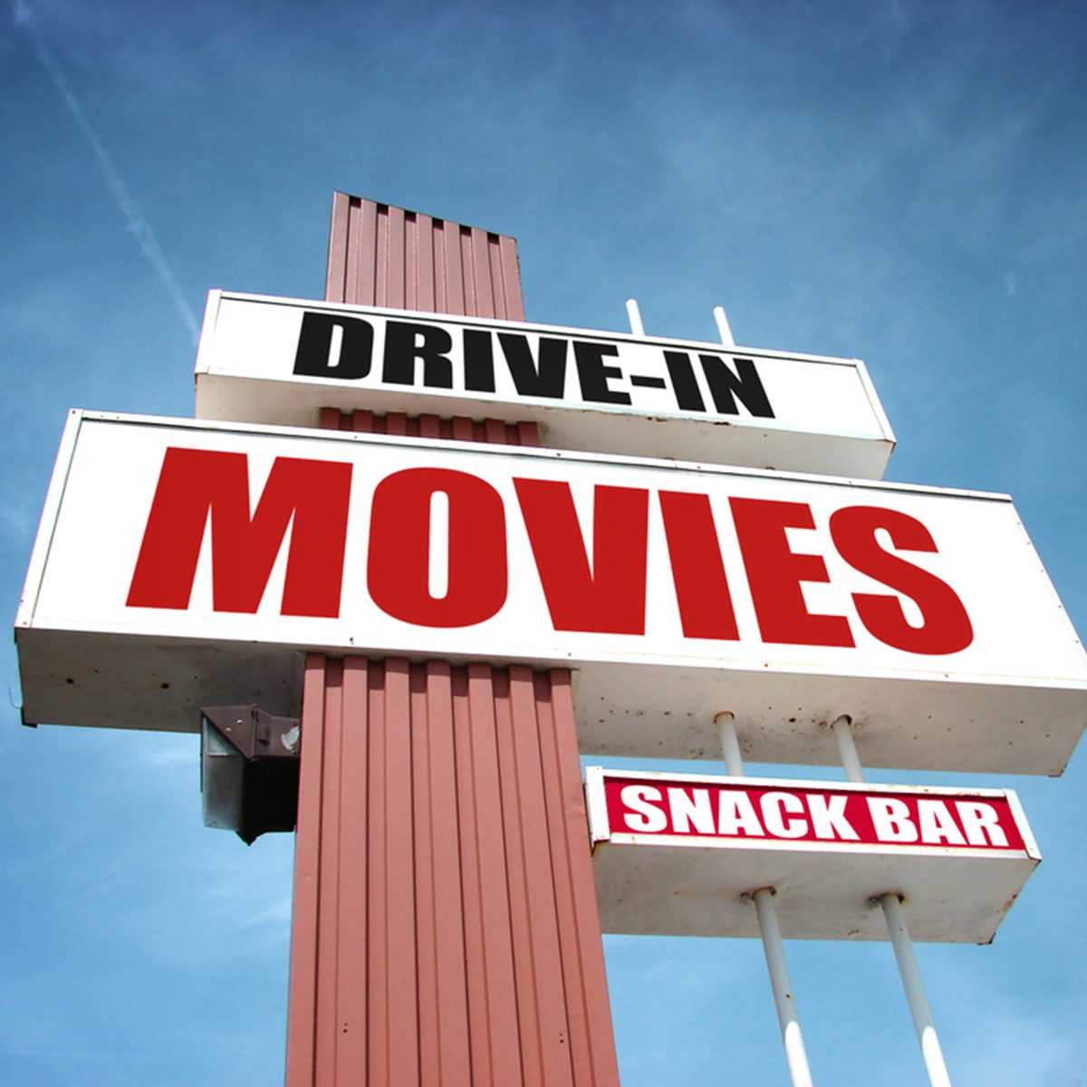 drive-in movies sign