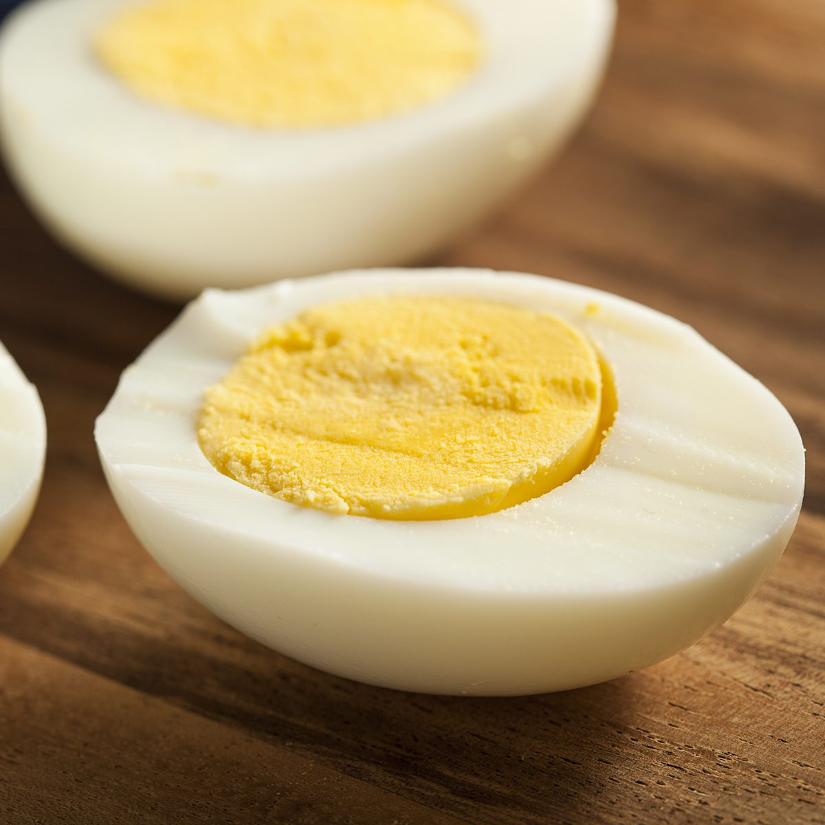 Organic Hard Boiled Eggs Ready to Eat; Shutterstock ID 179891711