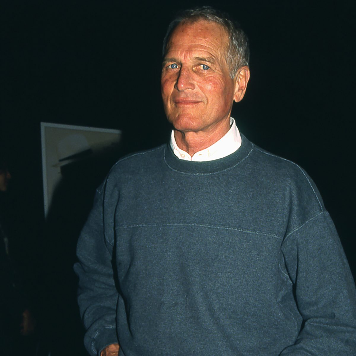 Rare photo of Paul Newman at a celebrity event