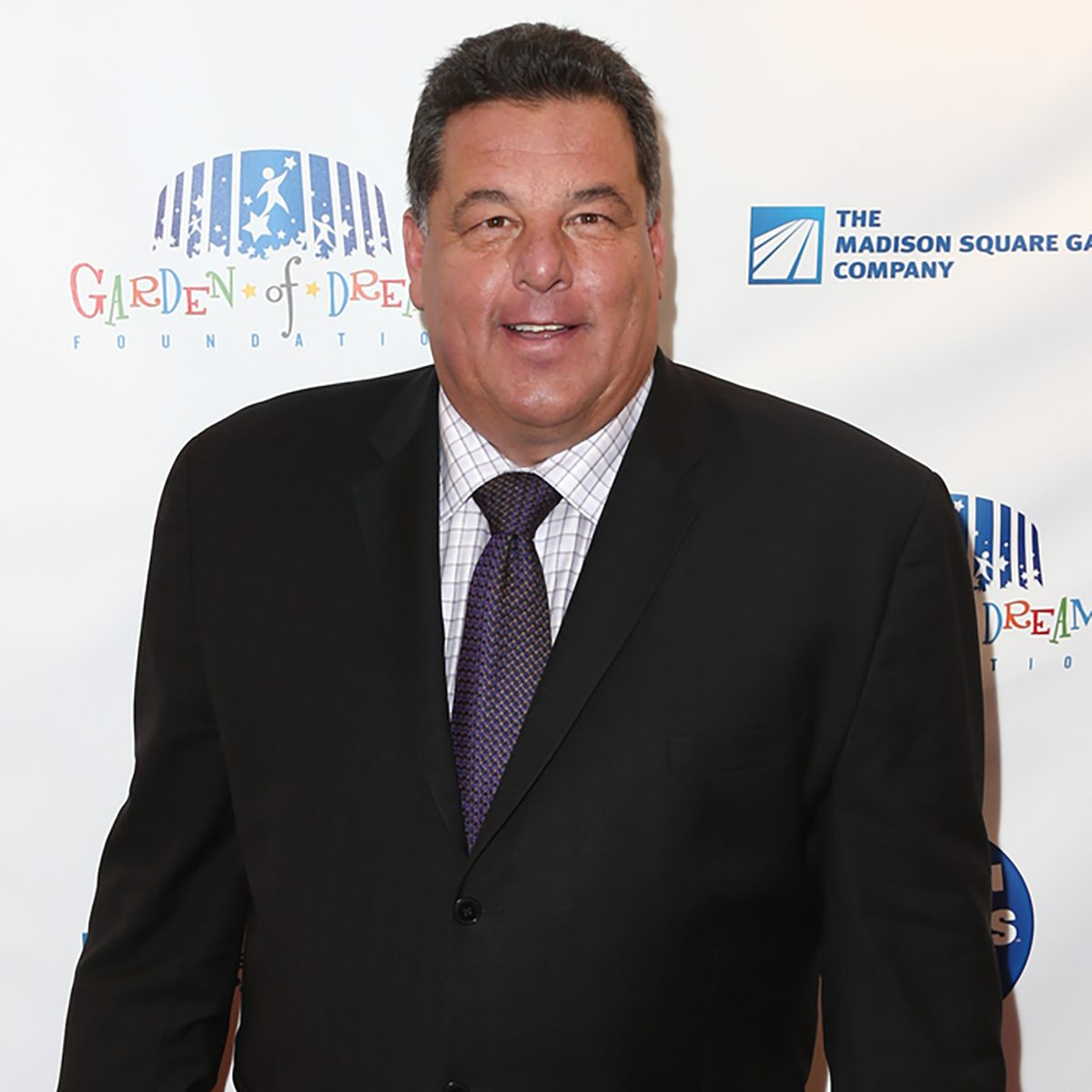 Actor Steve Schirripa attends the 2015 Garden Of Laughs Comedy Benefit at the Club Bar and Grill at Madison Square Garden on March 28, 2015 in New York City.