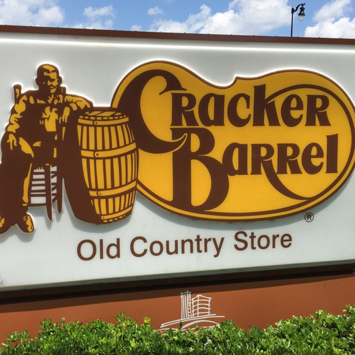 Cracker Barrel Old Country Stores are near freeway exits throughout the USA.