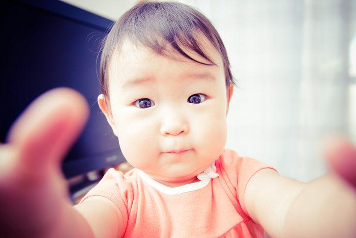 Cute baby.Japanese Asian