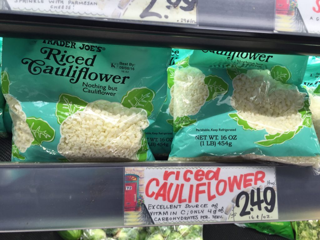 Trader Joe's Cauliflower