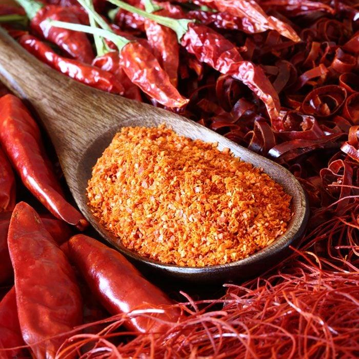 Red pepper, chili pepper