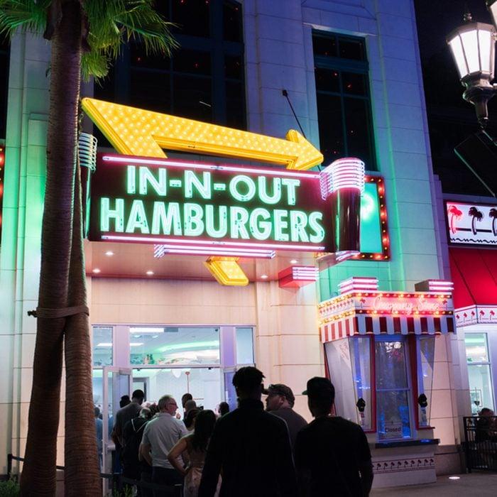 In-N-Out Burger in Las Vegas, Nevada.