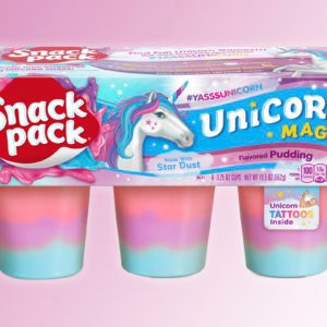 """Snack Pack Pudding Will Have a """"Magical Unicorn"""" Flavor"""