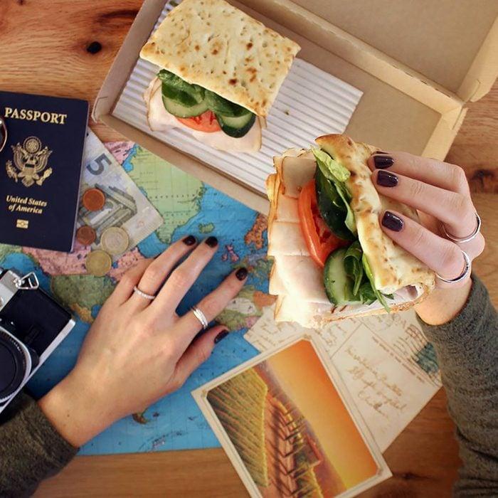 wawa sandwich and passport