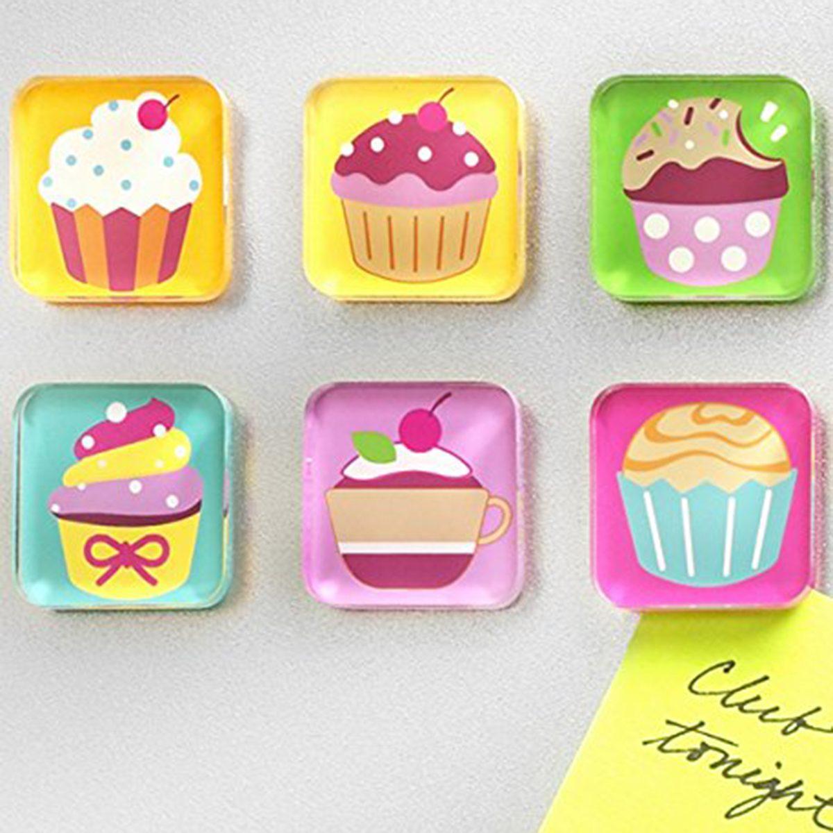 Cupcake Magnet Set
