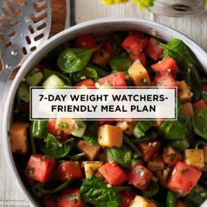 7-Day Weight Watchers-Friendly Meal Plan