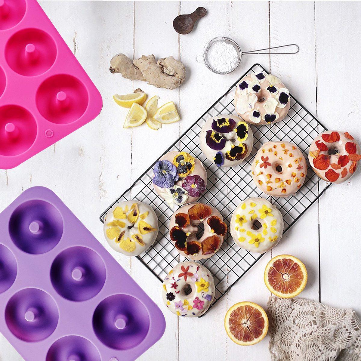 Klemoo Silicone Donut Baking Pan