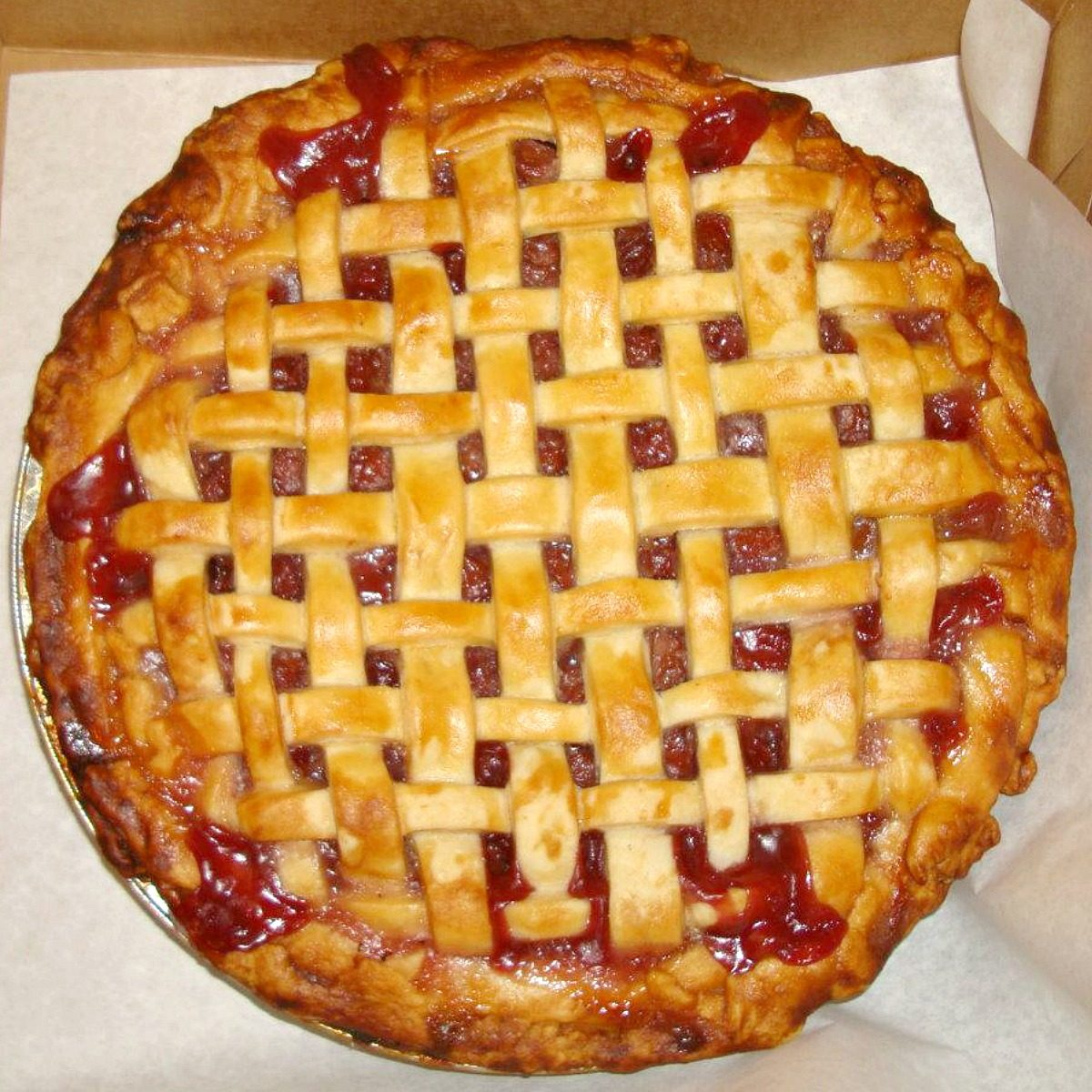 Close-up of a fruit pie