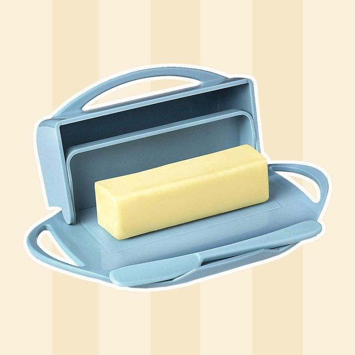 Butter Dish & Knife
