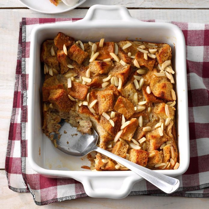 Chai-Spiced Bread Pudding