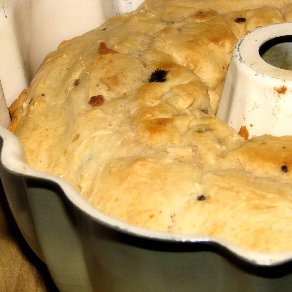 Cookie dough ice cream bread
